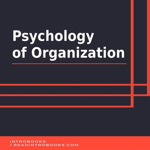 Psychology of Organization, IntroBooks