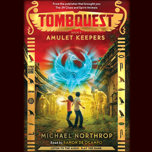 Tombquest #2: Amulet Keepers, Michael Northrop