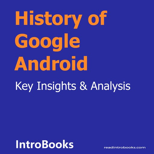 History of Google Android, Introbooks Team