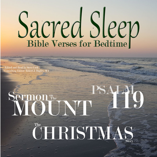 Sacred Sleep: Bible Verses for Bedtime, Various