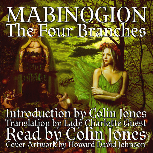 Mabinogion, the Four Branches, Colin Jones, Lady Charlotte Guest
