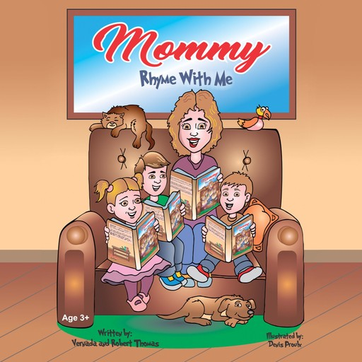 Mommy Rhyme With Me, Vernada Thomas