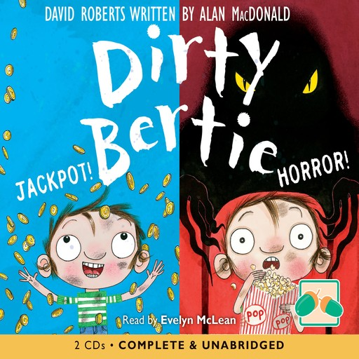 Dirty Bertie: Jackpot! & Horror!, David Roberts, Alan MacDonald