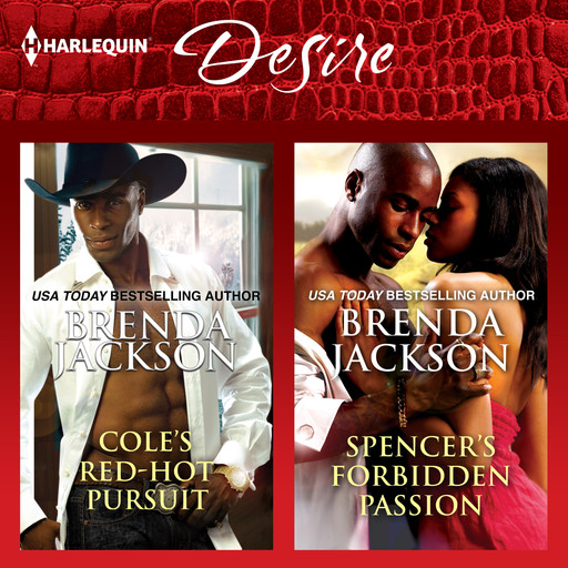 Cole's Red-Hot Pursuit & Spencer's Forbidden Passion, Brenda Jackson