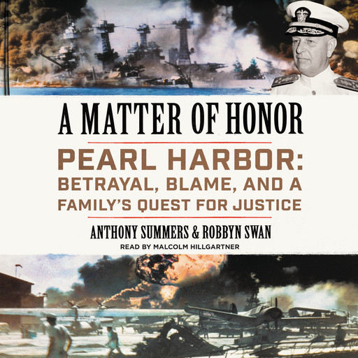 A Matter of Honor, Anthony Summers, Robbyn Swan
