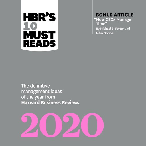 HBR's 10 Must Reads: 2020, Harvard Business Review