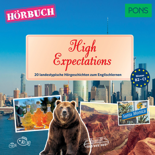 PONS Hörbuch Englisch: High Expectations, Simon Heptinstall, PONS-Redaktion
