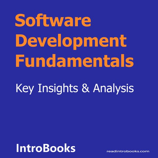 Software Development Fundamentals, Introbooks Team
