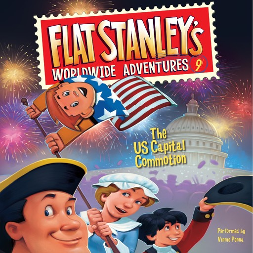 Flat Stanley's Worldwide Adventures #9: The US Capital Commotion, Jeff Brown