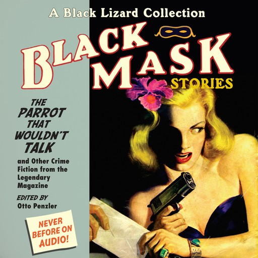 Black Mask 4: The Parrot That Wouldn't Talk, Otto Penzler