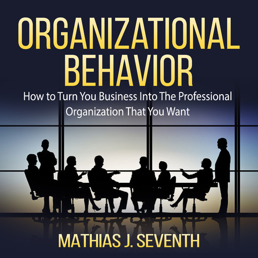 Organizational Behavior: How to Turn You Business Into The Professional Organization That You Want, Mathias J. Seventh