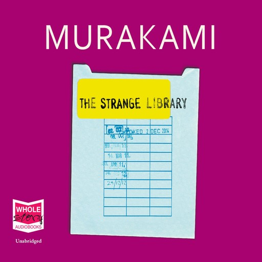 The Strange Library, Haruki Murakami