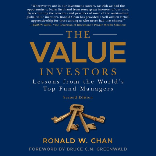 The Value Investors, Ronald Chan, Bruce C. Greenwald