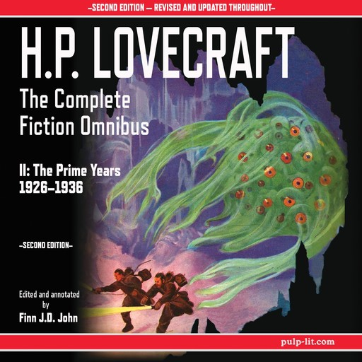 H.P. Lovecraft: The Complete Fiction Omnibus II: The Prime Years 1926-1936, Howard Lovecraft