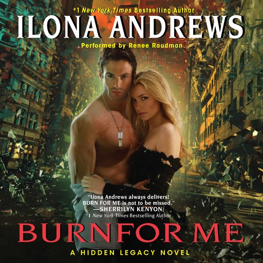 Burn for Me, Ilona Andrews