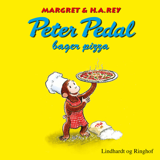 Peter Pedal bager pizza, H.A. Rey