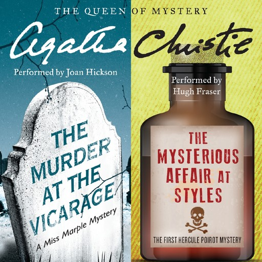 The Murder at the Vicarage & The Mysterious Affair at Styles, Agatha Christie