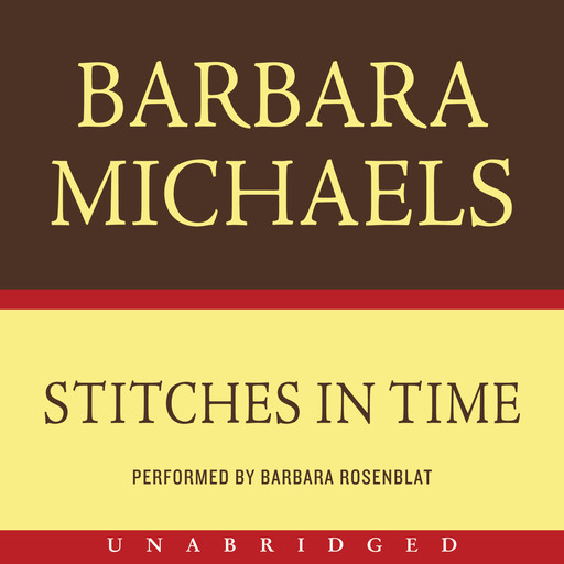 Stitches in Time, Barbara Michaels