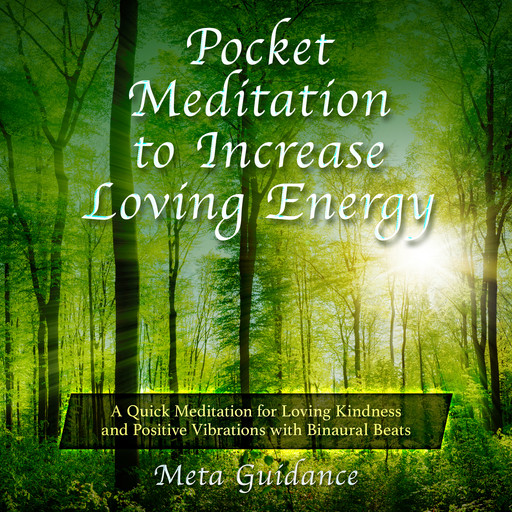Pocket Meditation to Increase Loving Energy: A Quick Meditation for Loving Kindness and Positive Vibrations with Binaural Beats, Meta Guidance