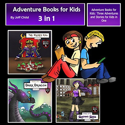 Adventure Books for Kids, Jeff Child
