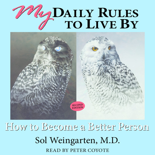 My Daily Rules to Live By: How to Become a Better Person, Sol Weingarten