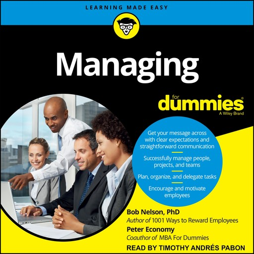 Managing For Dummies, Peter Economy, Bob Nelson