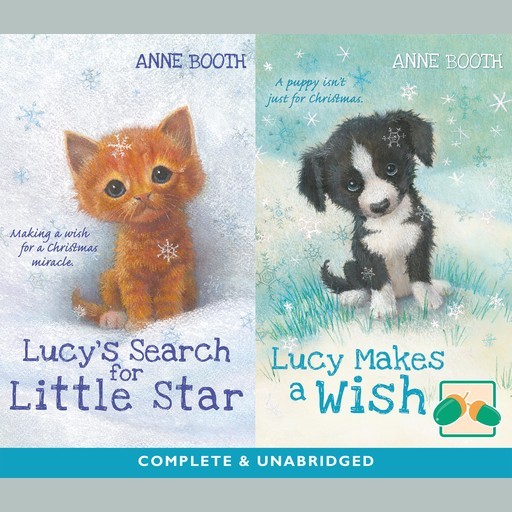 Lucy's Search for Little Star & Lucy Makes a Wish, Anne Booth