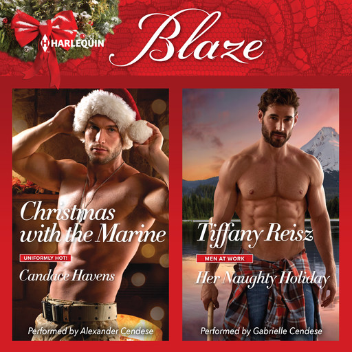 Christmas with the Marine & Her Naughty Holiday, Tiffany Reisz, Candace Havens