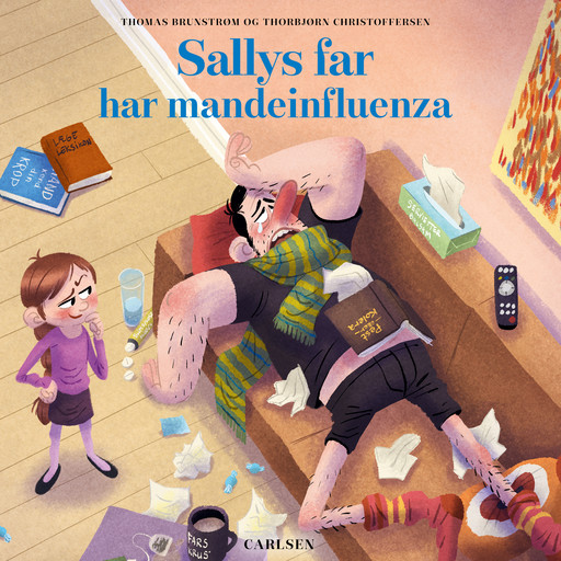 Sallys far (8) - Sallys far har mandeinfluenza, Thomas Brunstrøm, Thorbjørn Christoffersen