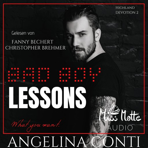 BAD BOY LESSONS, Angelina Conti