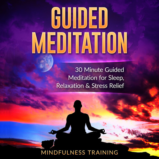 Guided Meditation: 30 Minute Guided Meditation for Sleep, Relaxation, & Stress Relief (Deep Sleep Self Hypnosis, Positive Law of Attraction Affirmations, Overcome Anxiety & Panic Attacks Techniques), Mindfulness Training