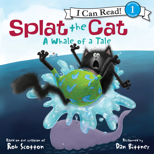 Splat the Cat: A Whale of a Tale, Rob Scotton