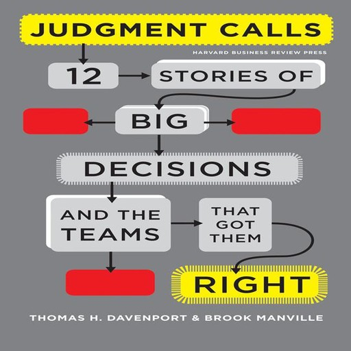 Judgment Calls, Thomas Davenport, Brook Manville