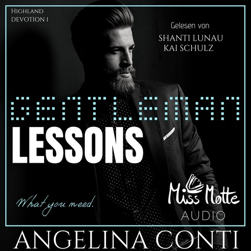 GENTLEMAN LESSONS, Angelina Conti