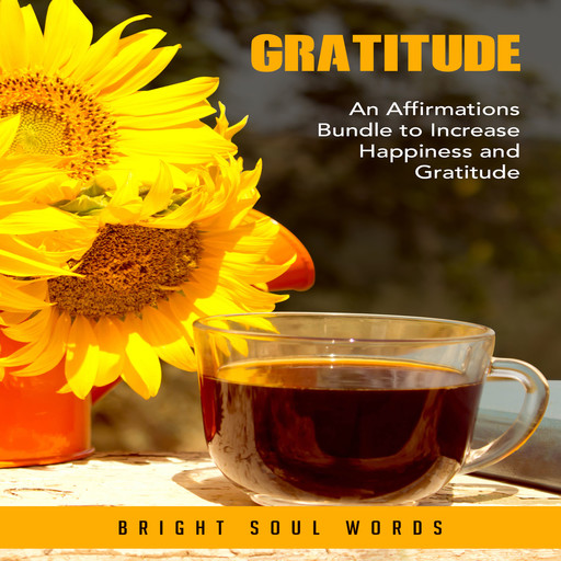 Gratitude: An Affirmations Bundle to Increase Happiness and Gratitude, Bright Soul Words