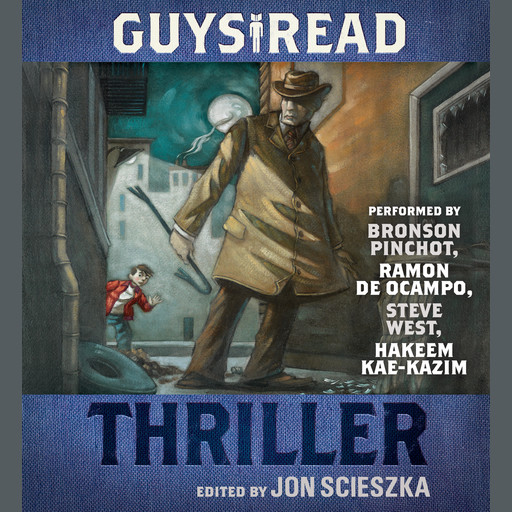 Guys Read: Thriller, Jon Scieszka