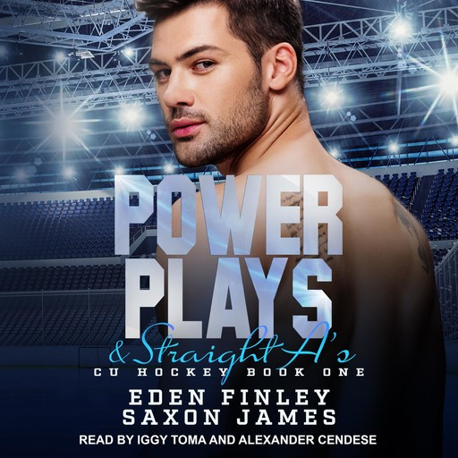 Power Plays & Straight A's, Eden Finley, Saxon James