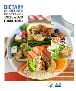 Dietary Guidelines for Americans 2015–2020, U.S.Department of Agriculture, Human Services, U.S. Department of Health