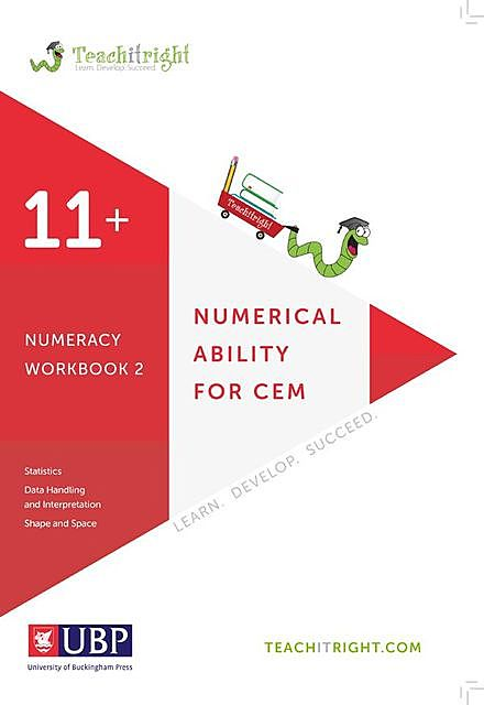 11+ Tuition Guides: Numerical Ability Workbook 2, Teachitright