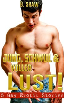 Jung, schwul & voller Lust! 5 Gay Erotik Stories, B. Shaw