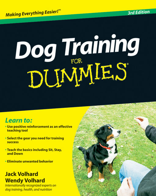Dog Training For Dummies, Jack Volhard, Wendy Volhard