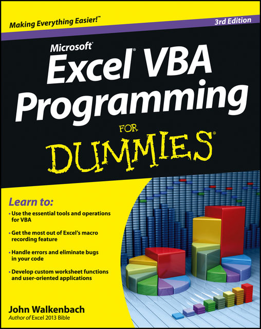 Excel VBA Programming For Dummies, John Walkenbach