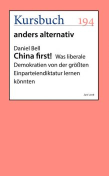 China first, Daniel Bell