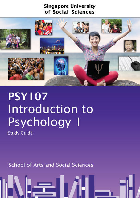 Introduction To Psychology 1, Singapore University of Social Sciences, Pearson