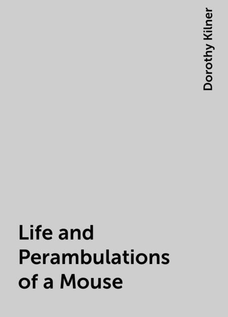 Life and Perambulations of a Mouse, Dorothy Kilner