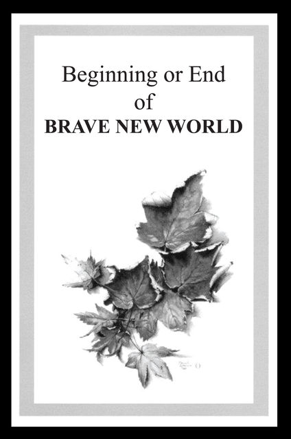 Beginning or End of BRAVE NEW WORLD, Hamish Simpson