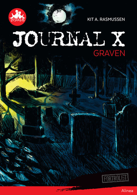 Journal X – Graven, Rød Læseklub, Kit A. Rasmussen