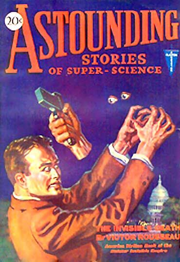 Astounding Stories of Super-Science, October, 1930, Various