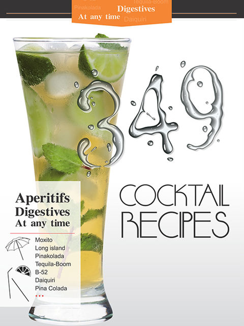 349 Cocktail Recipes, Karen Margaryan