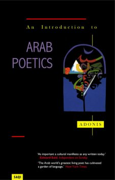 An Introduction to Arab Poetics, Adonis